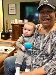 Constantine and Auntie Lorraine Fall 2018